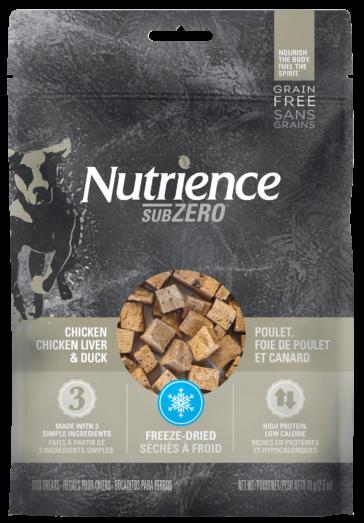 Freeze-Dried Chicken, Chicken Liver & Duck Dog Treats